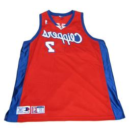 1999 Champion Los Angeles Clippers 100% Authentic ODOM Jerse
