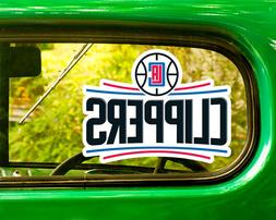2 LOS ANGELES CLIPPERS STICKER Decal Bogo For Car Bumper Fre