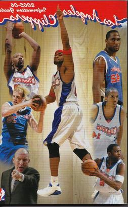 2005-06 Los Angeles Clippers Basketball Media Guide