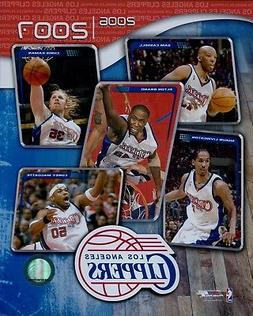 2006-07 Los Angeles Clippers Team NBA Licensed Unsigned Glos
