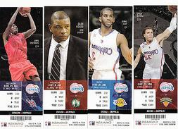 2013-14 LOS ANGELES CLIPPERS SEASON TICKET SET WITH PLAYOFFS