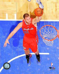 BLAKE GRIFFIN – LOS ANGELES CLIPPERS NBA LICENSED 8x10 ACT