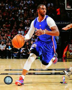 CHRIS PAUL – LOS ANGELES CLIPPERS NBA LICENSED 8x10 ACTION