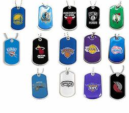 dog tag necklace NBA PICK YOUR TEAM not a cheap gumball mach