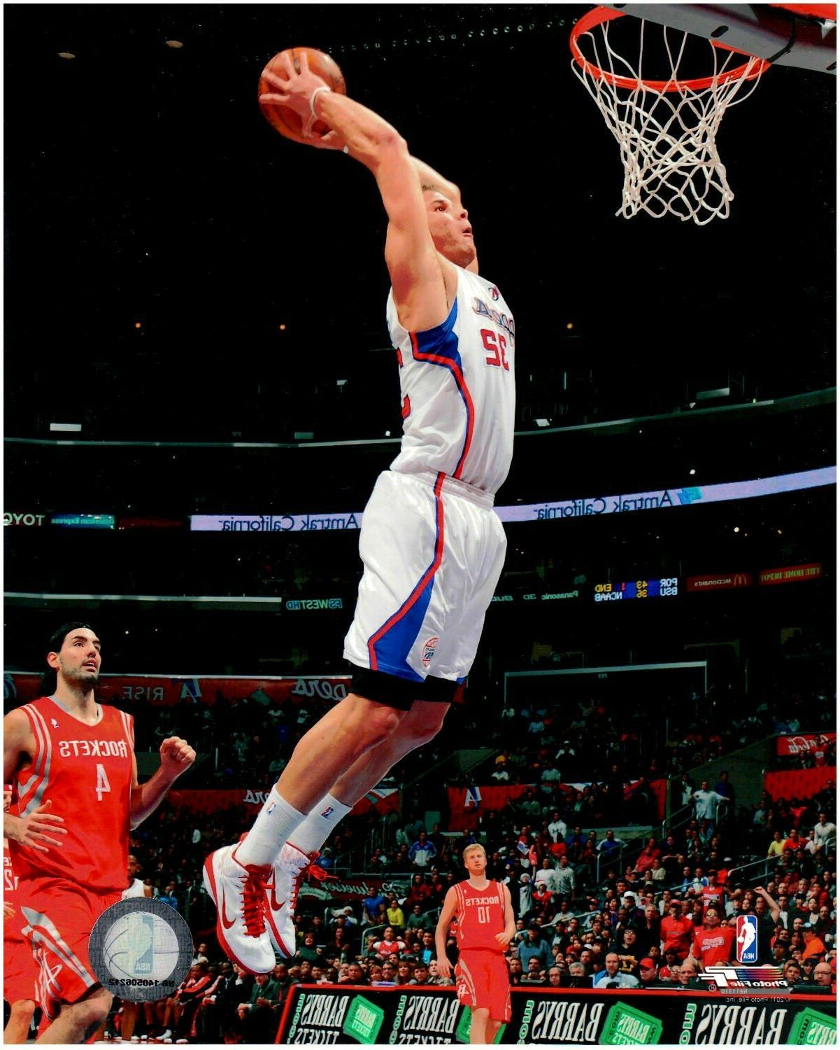 blake griffin los angeles clippers licensed 8x10