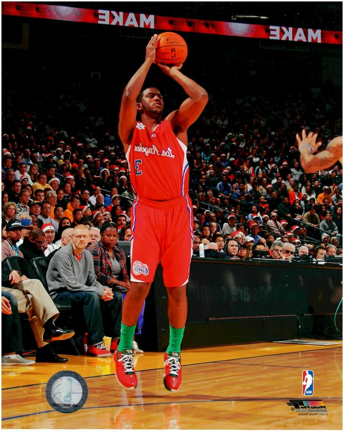 chris paul los angeles clippers licensed 8x10