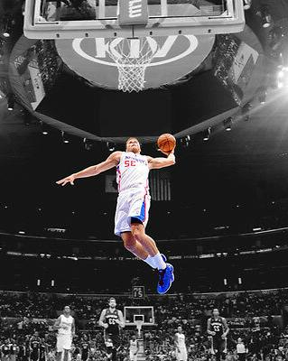 la los angeles clippers blake griffin glossy