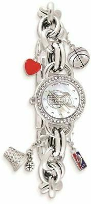 Ladies NBA Los Angeles Clippers Charm Watch