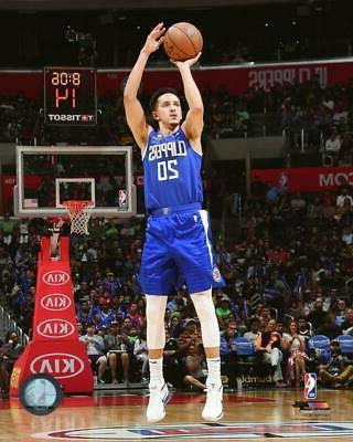 landry shamet los angeles clippers action photo