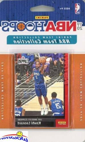 los angeles clippers 2019 20 panini hoops