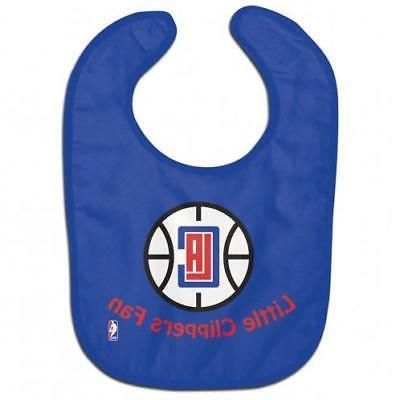 los angeles clippers all pro baby bib