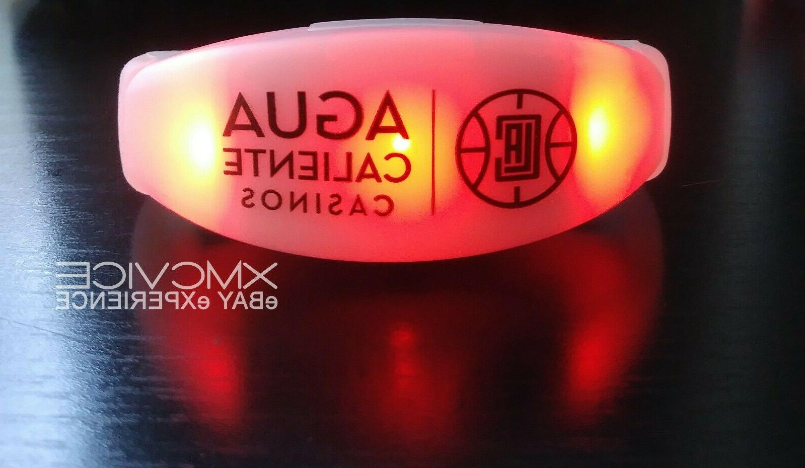 los angeles clippers light up silicone bracelet