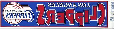 los angeles clippers nba licensed bumper sticker