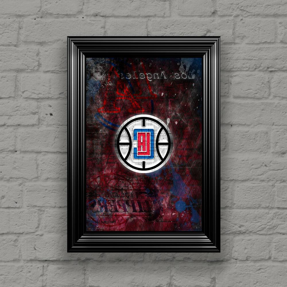 LOS ANGELES CLIPPERS Poster, Shipping Us