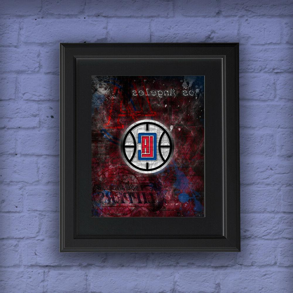 LOS ANGELES CLIPPERS Poster, Clippers Shipping