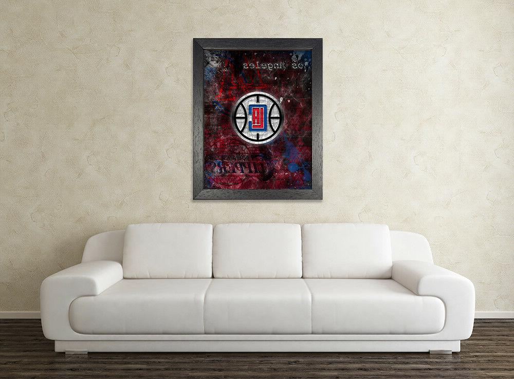 LOS ANGELES Poster, Clippers Shipping Us