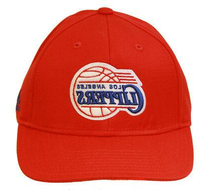 los angeles clippers snapback adjustable hat red