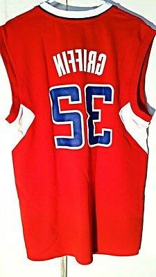 Adidas NBA Jersey Los Angeles Clippers Blake Griffin Red sz