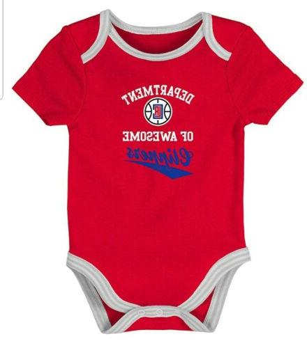 NBA Los Angeles Clippers Baby Size 2 NWT