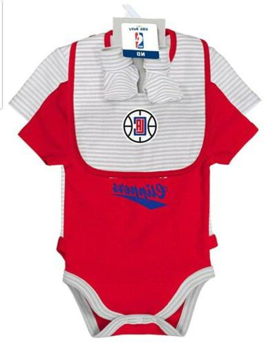 nba los angeles clippers baby size 0