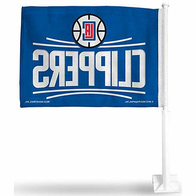 Official NBA Los Angeles Clippers Car Flag 988500