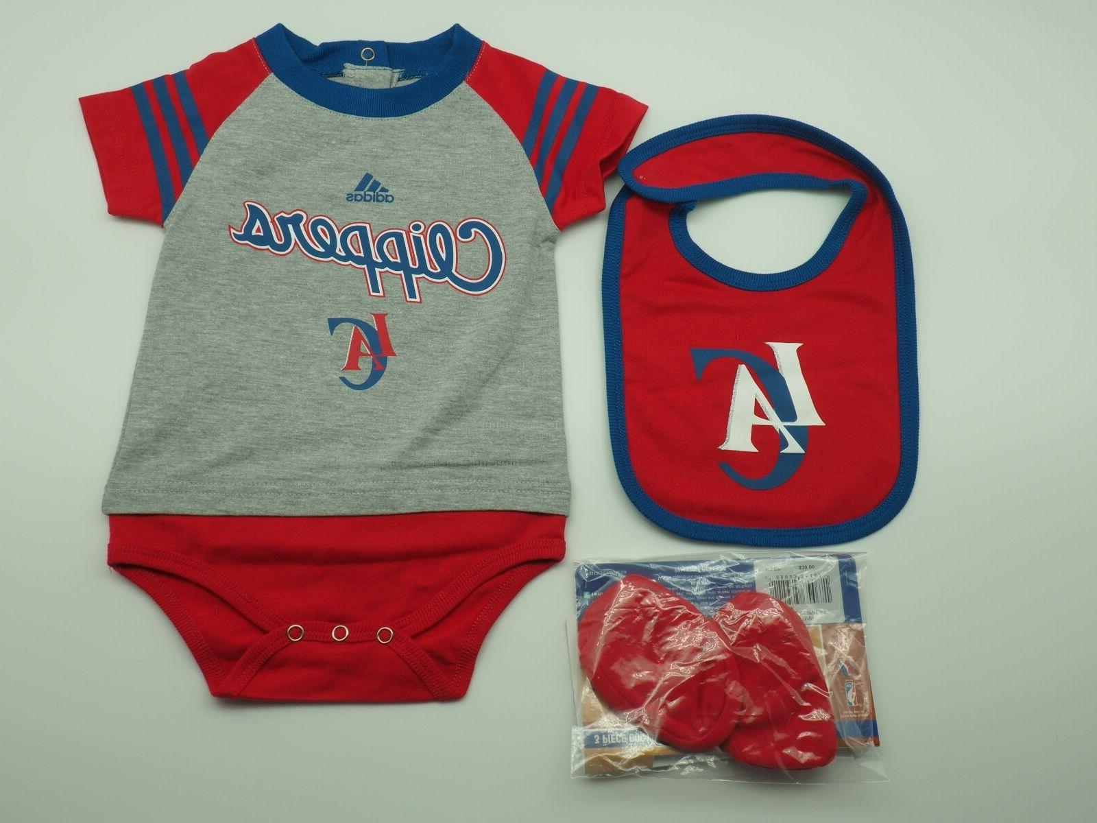 nba los angeles clippers genuine infant 3