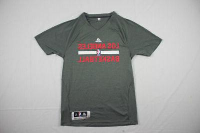 new los angeles clippers gray poly short