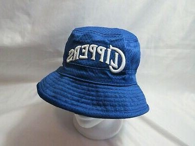 NWT Men's MITCHELL Angeles Clippers Bucket Cap