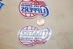 """Los Angeles Clippers 2 7/8"""" Patch 1984-2010 Primary Logo Bas"""