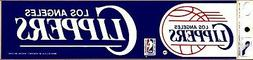 los angeles clippers classic logo licensed bumper