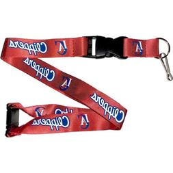 Los Angeles Clippers Clip Lanyard Keychain Id Ticket Holder