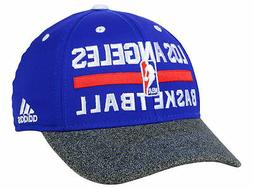 Adidas Los Angeles Clippers Hat Flex Fitted Ball Cap SM/MED