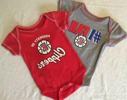 Los Angeles Clippers Infant Baby  One-Piece Creeper Outfit S