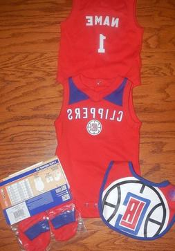los angeles clippers infant nba jersey bib