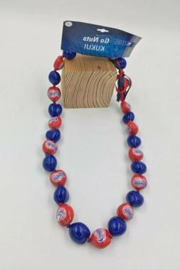 Los Angeles Clippers Go Nuts Kukui Nut Lei 18'' 30-Nut Neckl