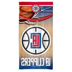 Los Angeles Clippers LA Beach Towel 30 x 60 Spectra Beach To