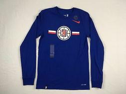 Los Angeles Clippers Nike Long Sleeve Shirt Men's New Multip