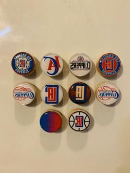 Los Angeles Clippers Magnets - Set Of 10 - FREE SHIPPING