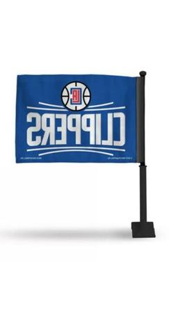 Los Angeles Clippers NBA 11X14 Window Mount 2-Sided Car Flag