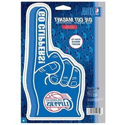 Los Angeles Clippers Official NBA Car Magnet by Wincraft