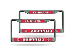 Los Angeles Clippers NBA Chrome Metal  License Plate Frames