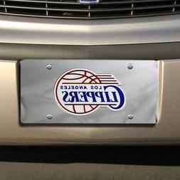 Los Angeles Clippers NBA Laser Cut License Plate Cover