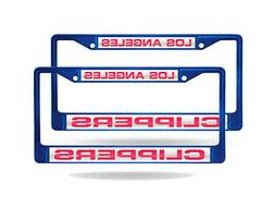 Los Angeles Clippers NBA  Blue Metal Laser Cut License Plate