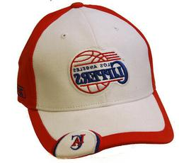 los angeles clippers nba strap adjustable hat