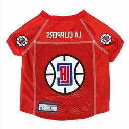 Los Angeles Clippers Pet Mesh Jersey - X-Small