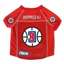 Los Angeles Clippers Pet Mesh Jersey
