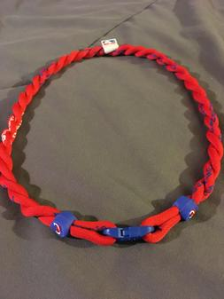 Los Angeles Clippers Red Double Rope Team Titanium Necklace
