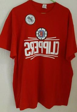 Los Angeles Clippers RED Shirt Size XL BRAND NEW