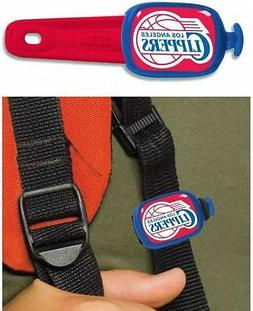 LOS ANGELES CLIPPERS STWRAP LUGGAGE TAG, BACKPACK TAG, BAG T