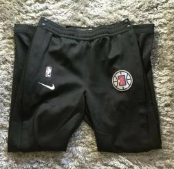 Nike Los Angeles Clippers Tear Away Game Black Pants Size